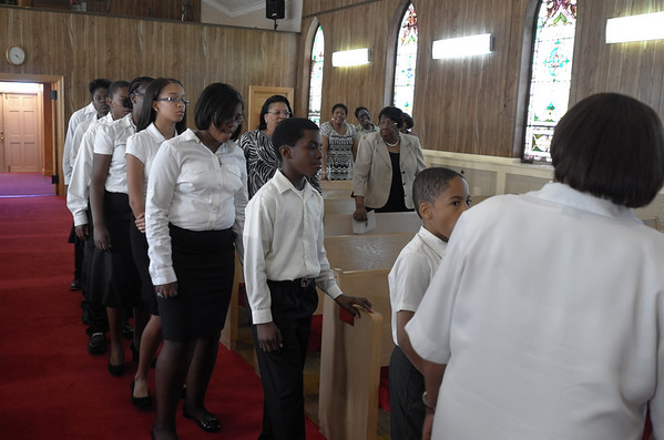Children's Choir and Praise Dance
