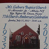 Mt. Calvary Church Anniversary-2012 :