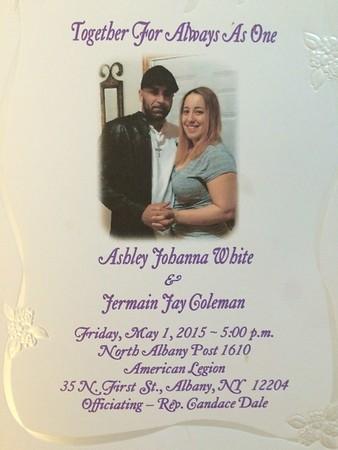 White-Coleman Wedding, May 1, 2015